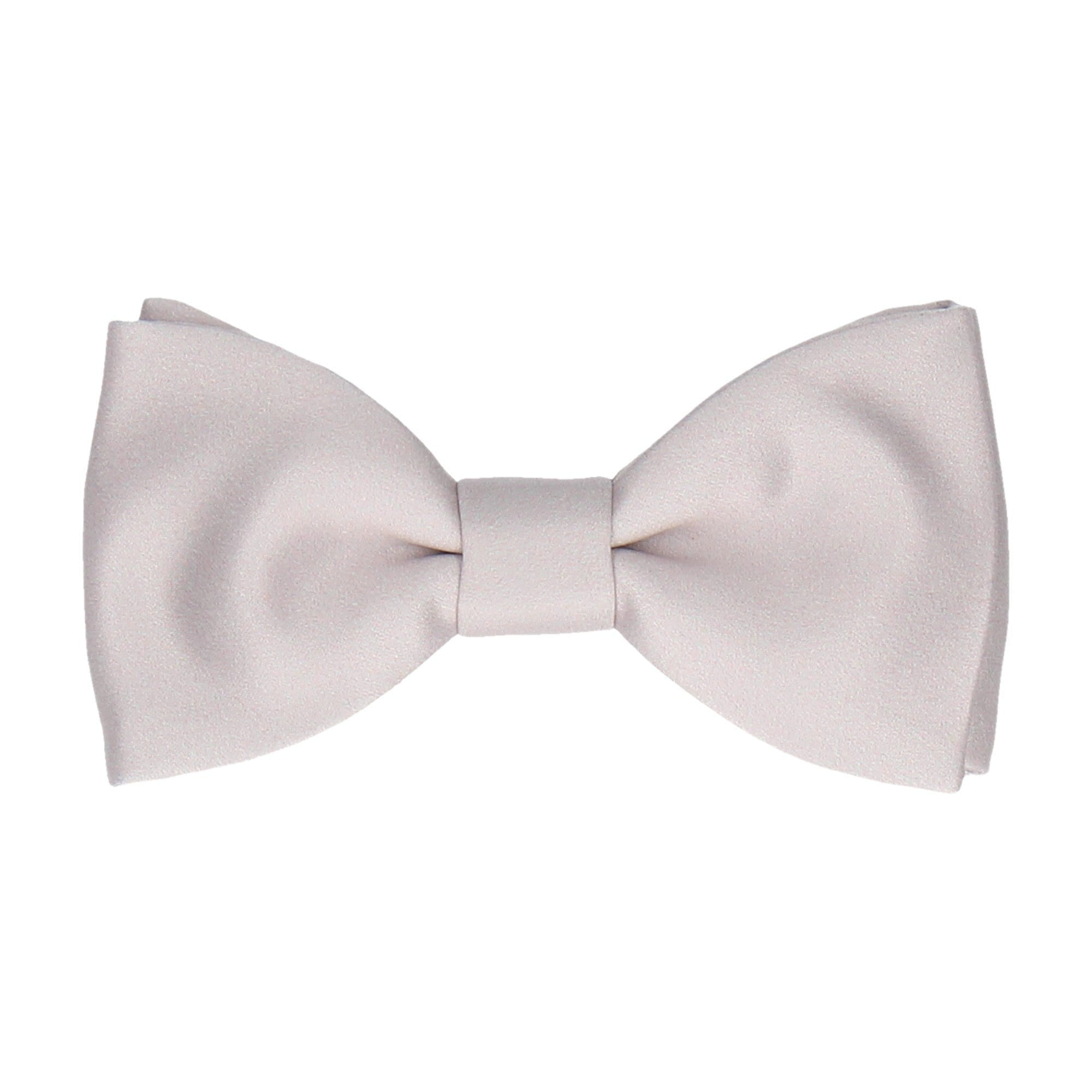 Classic in Pure Silver Bow Tie