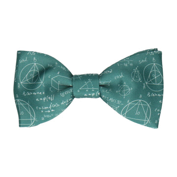 Equations Scientific Einstein Green Bow Tie