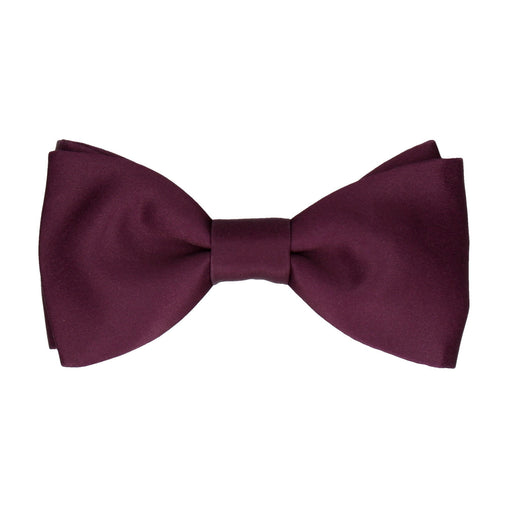 Classic Carmine Dark Red Bow Tie