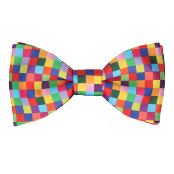 Jackson in Bright Multi Bow Tie