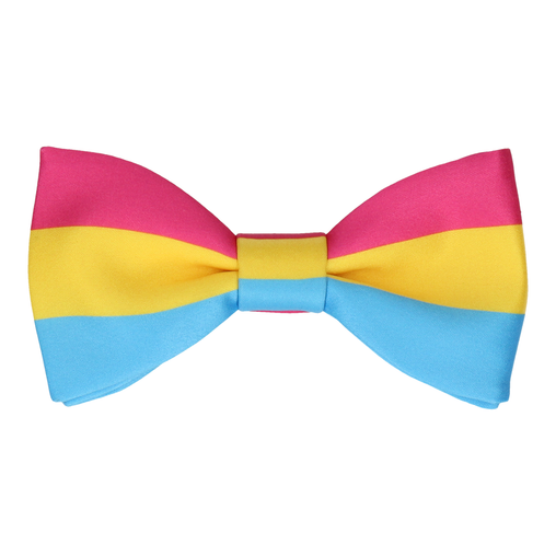 Pansexual Pride Flag Bow Tie