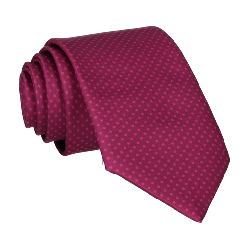 Dickinson Dots Mulberry Tie