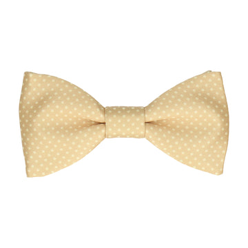 Pure Gold Tiny Dots Bow Tie