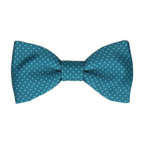 Dickinson Dots Emerald Sea Bow Tie
