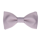 Dickinson in Silver Lavender Bow Tie