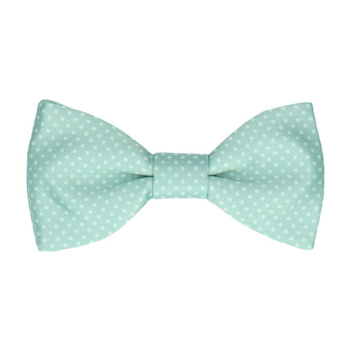 Dickinson Dots Cool Mint Bow Tie