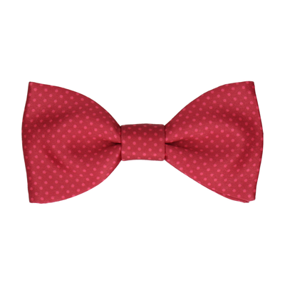Red Apple Tiny Dots Bow Tie