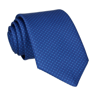 Celestial Blue Tiny Dots Tie