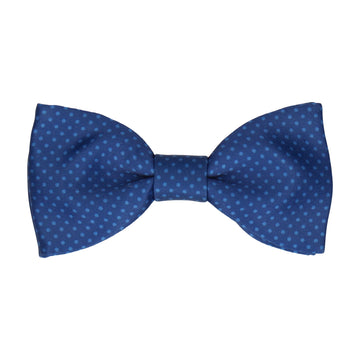 Celestial Blue Tiny Dots Bow Tie