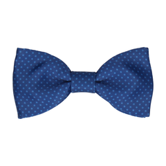 Dickinson Dots Celestial Blue Bow Tie