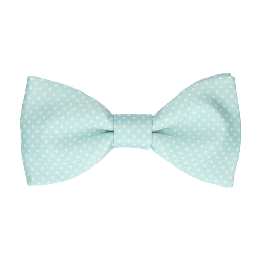 Dickinson Dots Glacier Green Bow Tie