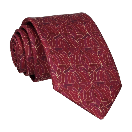 Casablanca in Dark Cherry Tie