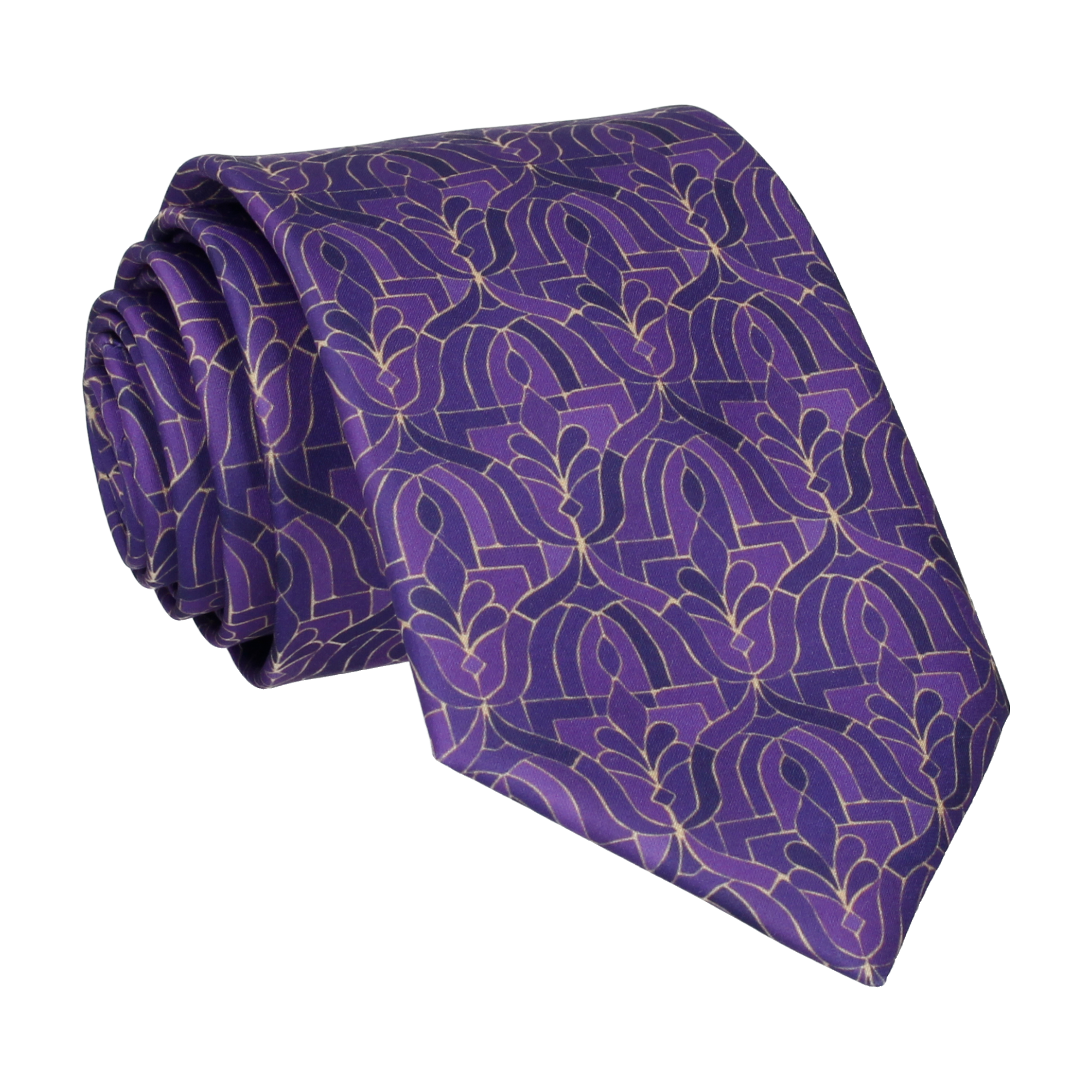 Casablanca in Purple Tie