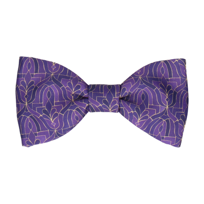 Casablanca in Purple Bow Tie