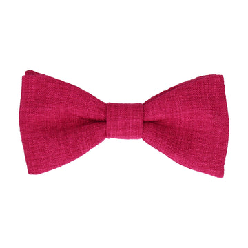 Isaac in Summer Pink Bow Tie