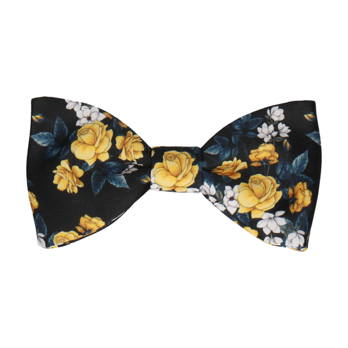 Osbourne in Black & Yellow Bow Tie