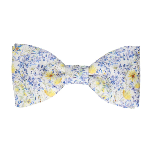 Achamore in Blue Bow Tie -Standard-Pre-Tie- - bowties by Mrs Bow Tie