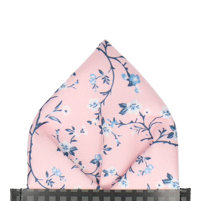 Odessa in Pink Pocket Square
