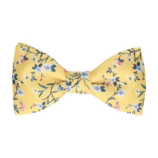 Odessa in Yellow Bow Tie