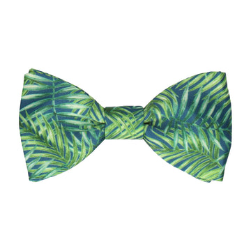 Navy Blue Rainforest Bow Tie