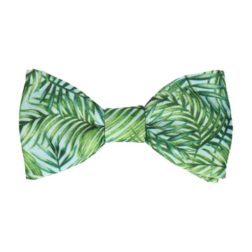 Pale Blue Rainforest Bow Tie