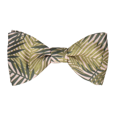 Dark Green Rainforest Bow Tie
