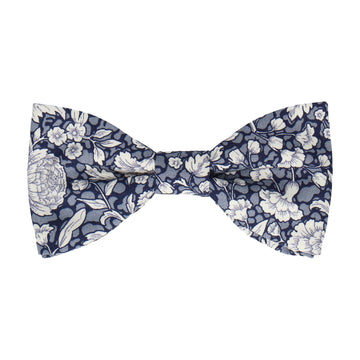 Abington Floral Blue Bow Tie