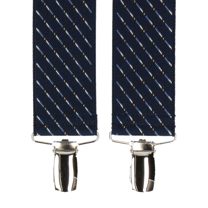 Kentucky in Navy Blue Braces - Suspenders / Braces by Mrs Bow Tie