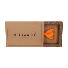 Classic in Orange Bow Tie