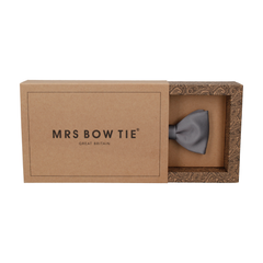 Classic in Thunder Grey Bow Tie
