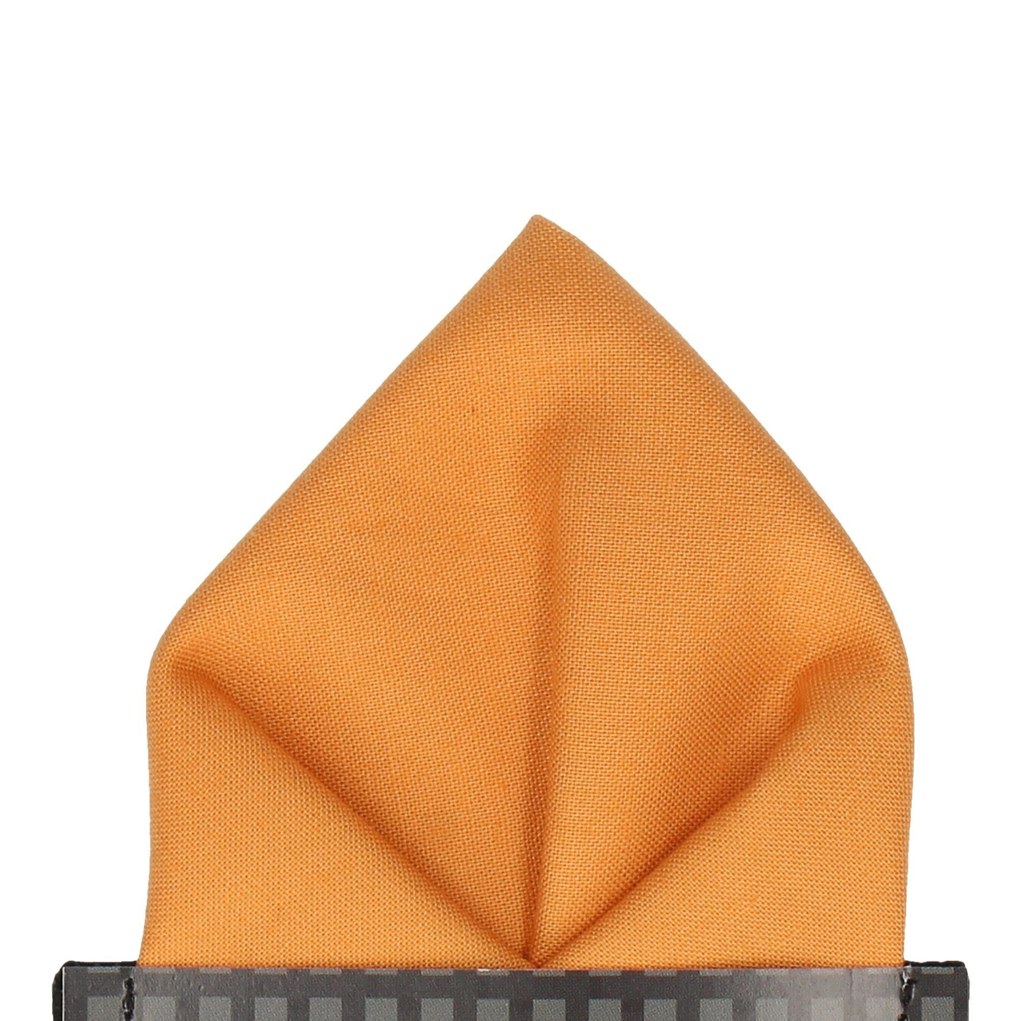 Cotton in Paprika Pocket Square