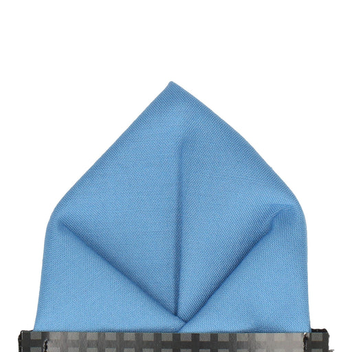 Cotton in Summer Sky Pocket Square - - Pocket Squares and Handkerchiefs by Mrs Bow Tie