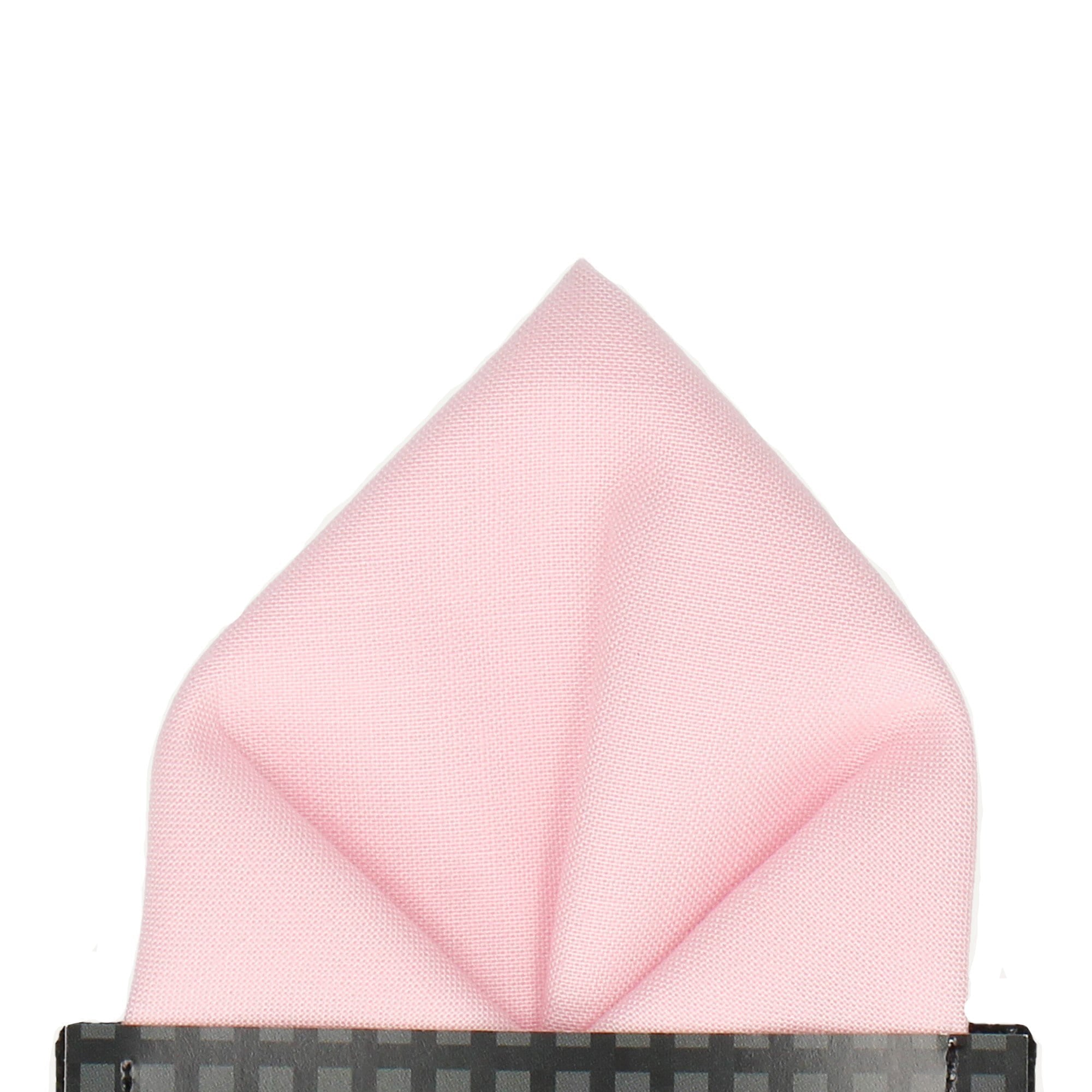 Cotton in Rose Quartz Pocket Square