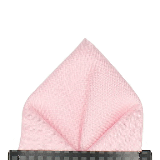Cotton in Rose Quartz Pocket Square - - Pocket Squares and Handkerchiefs by Mrs Bow Tie
