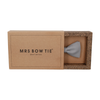 Cotton in Light Grey Bow Tie