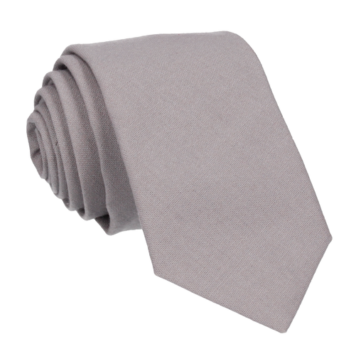 Cotton in Light Grey Tie