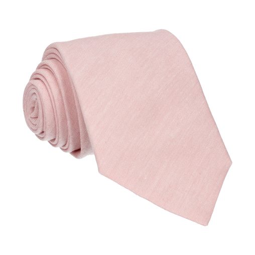 Cotton in Pink Chambray Tie