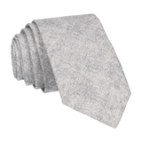 Cotton in Grey Marl Tie