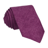 Cotton in Purple Marl Tie