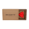 Classic in Poppy Red Bow Tie