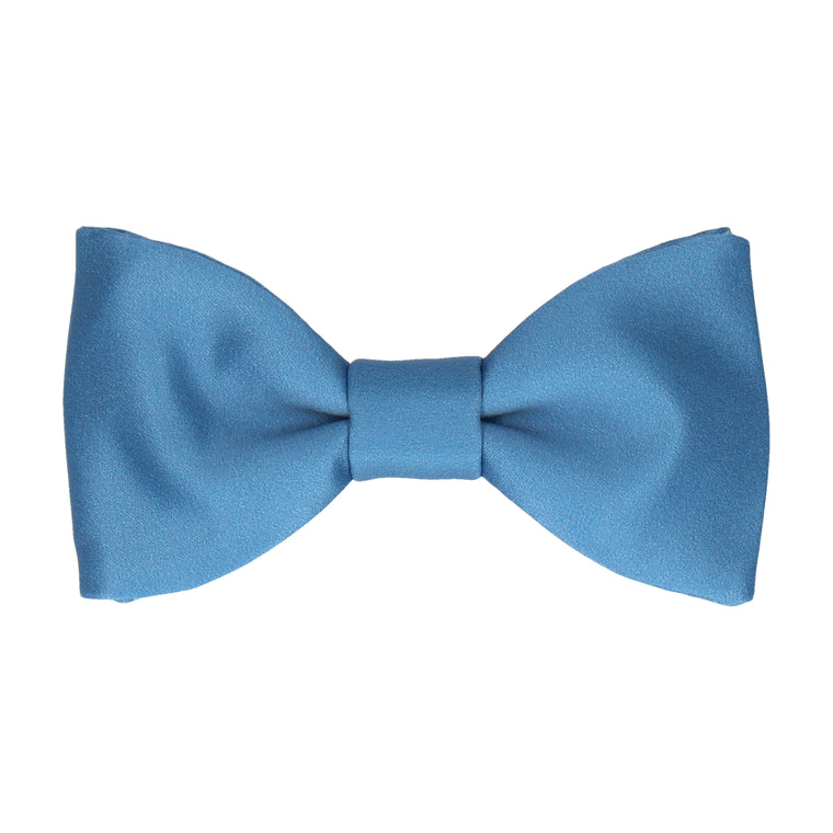 Classic Air Force Blue Bow Tie