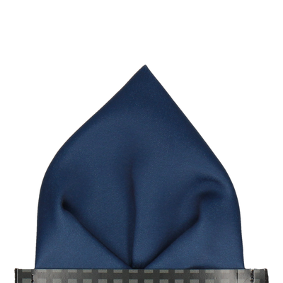 Classic in Prussian Blue Pocket Square