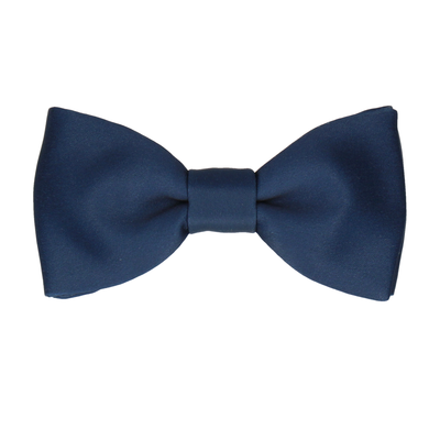 Classic Prussian Blue Bow Tie