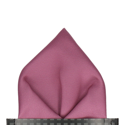 Classic in Dusky Mauve Pocket Square