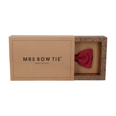 Classic in Bordeaux Bow Tie