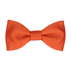Classic in Sunset Orange Bow Tie