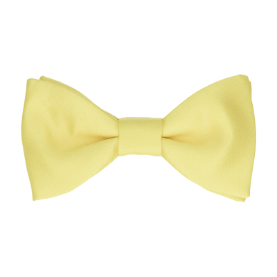 Classic in Lemon Bow Tie