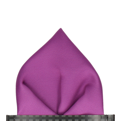 Classic in Orchid Pocket Square