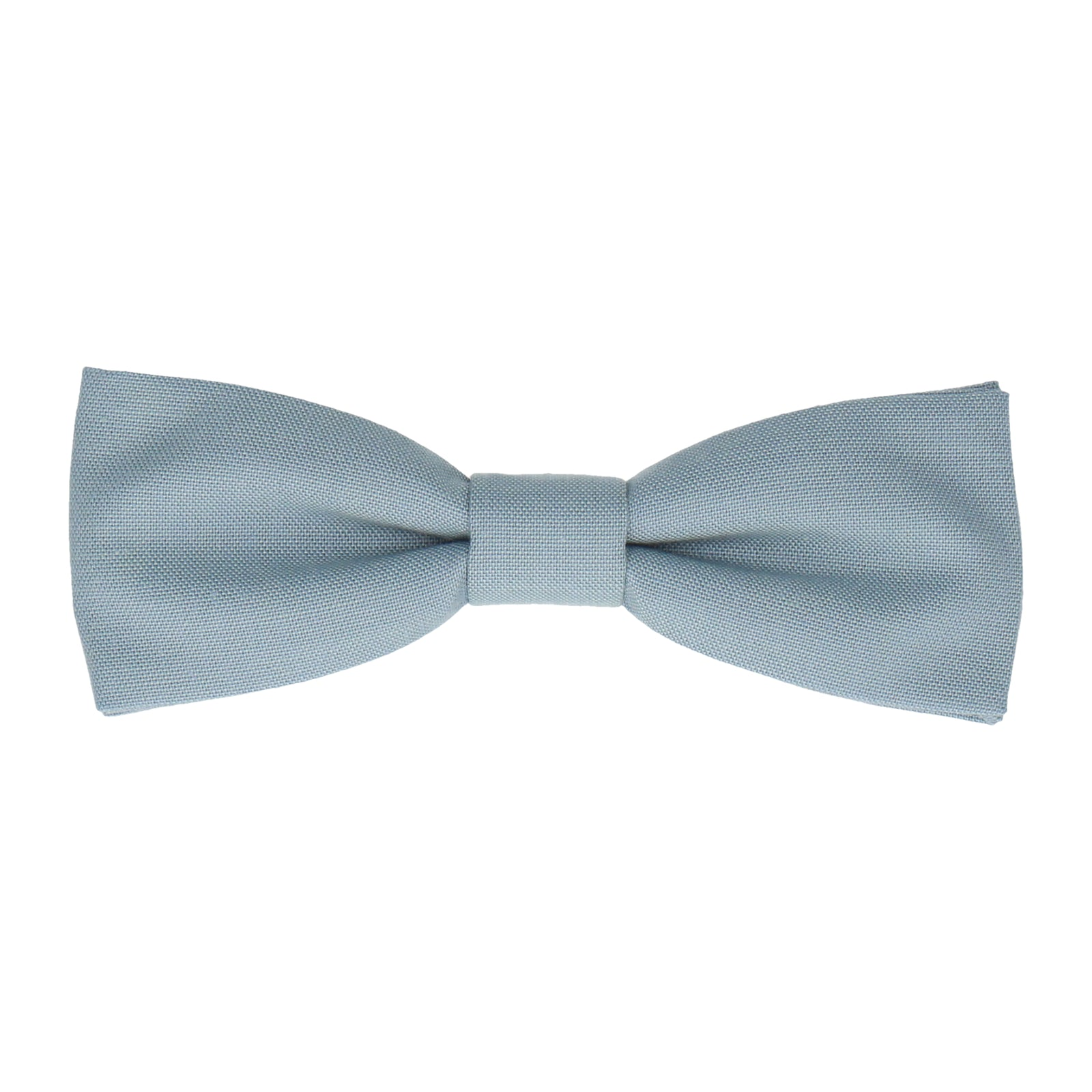 Cotton Sky Blue Chambray Bow Tie