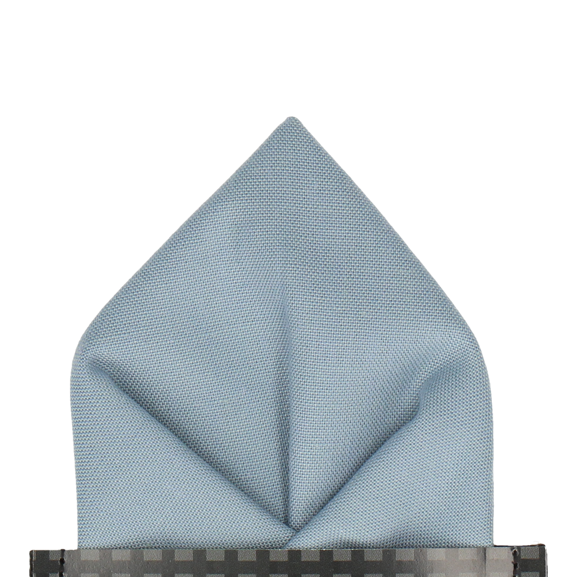 Cotton in Sky Blue Chambray Pocket Square